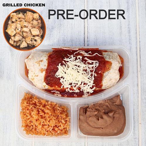 Wet Burrito Grilled chicken/ Lamonita เบอริโต้ชีส ไก่ย่าง
