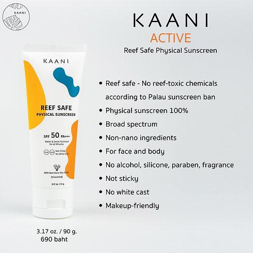 Reef Safe sunscreen / Kaani