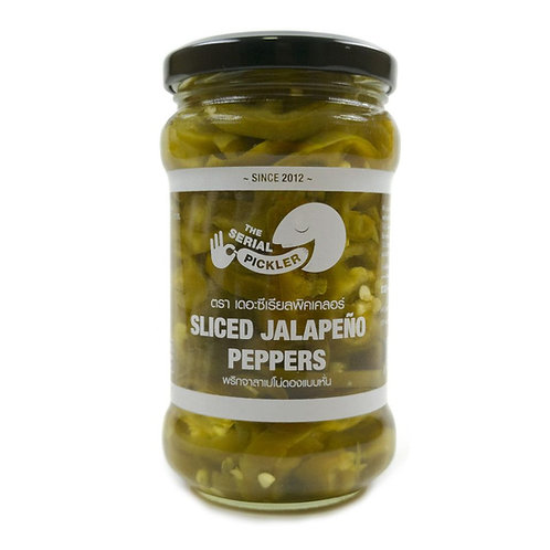 Sliced Jalapeno peppers (sugar free)