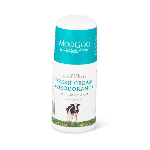 MooGoo Fresh Cream Deodorant โรลออน
