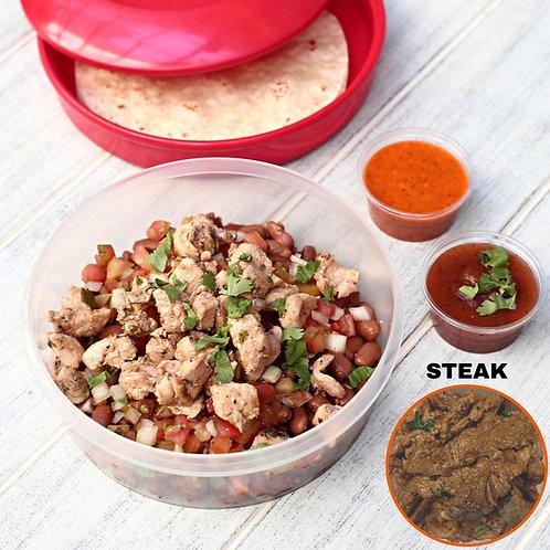 Taco Bowl Steak  / Lamonita ทาโก้เนื้อ