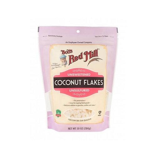 Coconut Flakes Unsweetened 284G /Bob's redmill