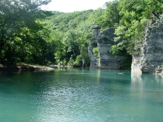 Chimney Rock Swimming hole
