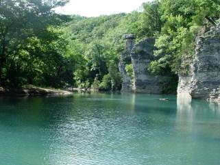 Chimney Rock Swimming hole