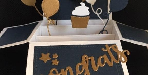 Cupcake Congratulations Pop-up
