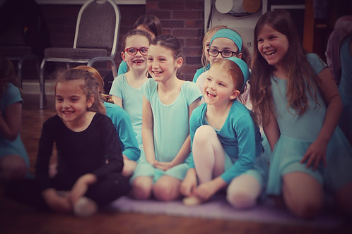 Tuesday Pre-Primary Ballet 4.10-4.40pm