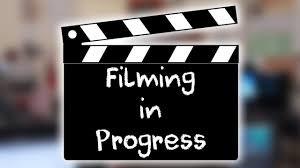 It's Filming Week....