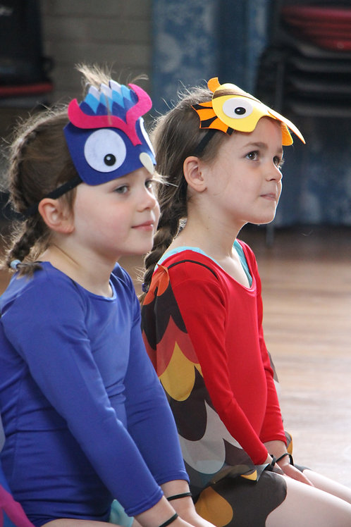 Monday Pre-Primary Ballet 4.10-4.40pm