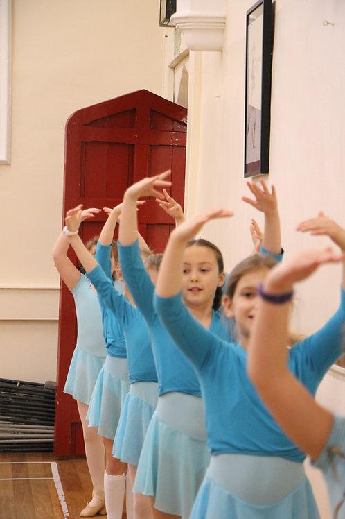 Monday Grade 1 Ballet 6.10 - 6.40pm