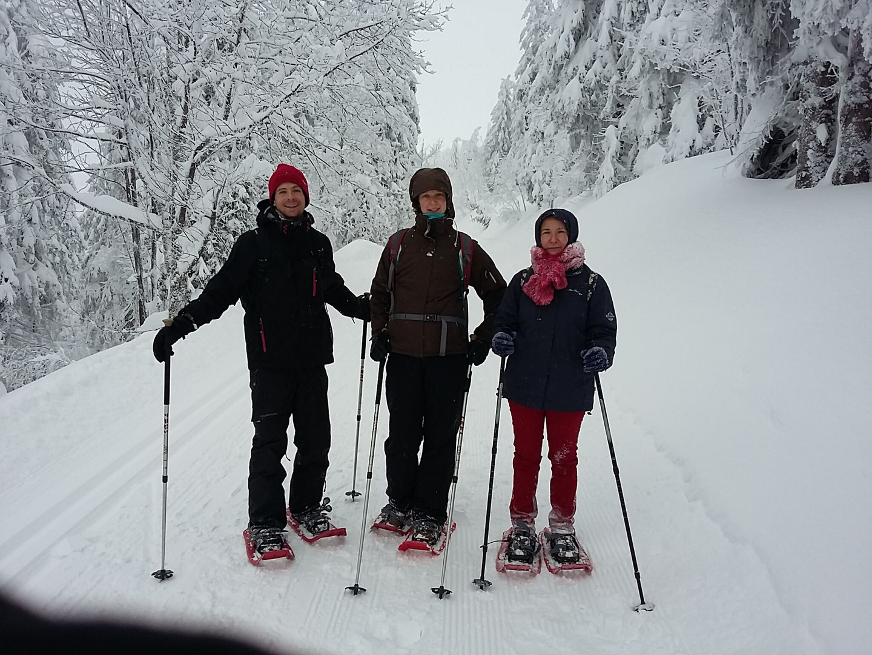 Sortie hiver au Feldberg