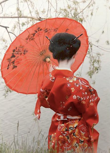 Japonais du visage