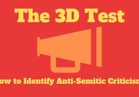 Distinguishing Between Valid and Anti-semitic Criticism of Israel: How and Why