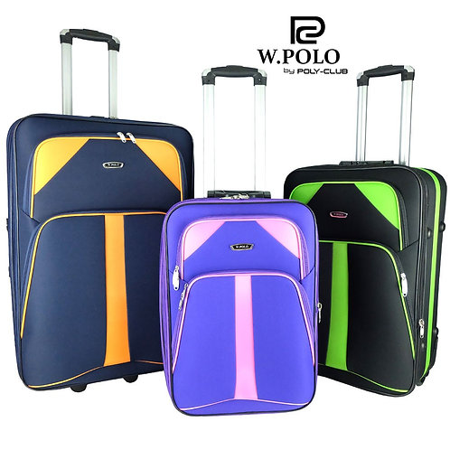 W.Polo WE9726 Softcase Luggage/ BULK