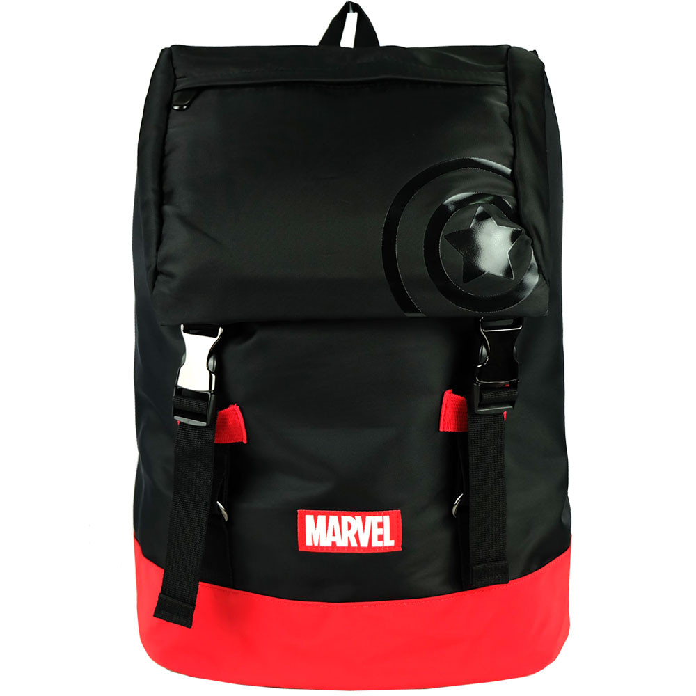 It's unisex backpack, spacious compartment. Just throw in anything that you wish to.