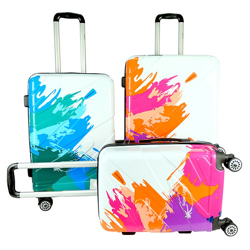 Poly Club Printed ABS+PC Hardcase Luggage