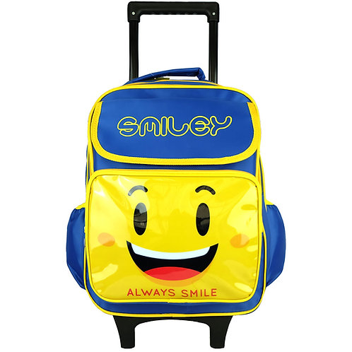 SMILEY SS1738R TROLLEY SCHOOL BAG