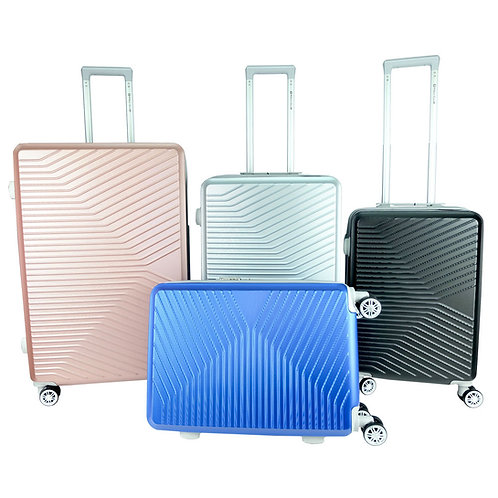 Poly-Club BA9902 4W Expendable ABS Hard Case Luggage with Anti-Theft Zipp