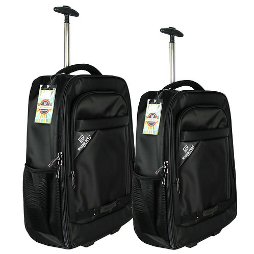 Waterpolo WN1809R Wheel Protection T-Bar Trolley Backpack