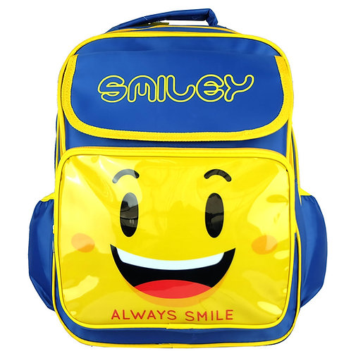 SMILEY SS1738 SCHOOL BAG/BULK