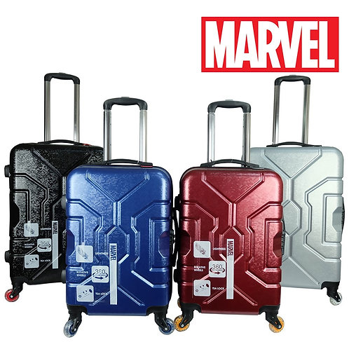 Marvel VAA1890 Worlds 1ST PATENTED PC Softcase Luggage With LED