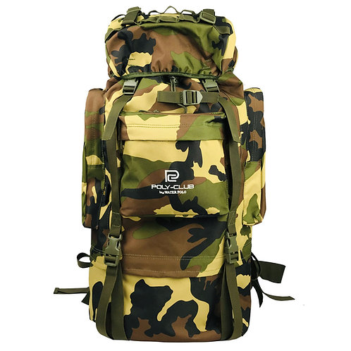 WS-BH9843 Poly-Club 65L Military Outdoor Hiking Bag