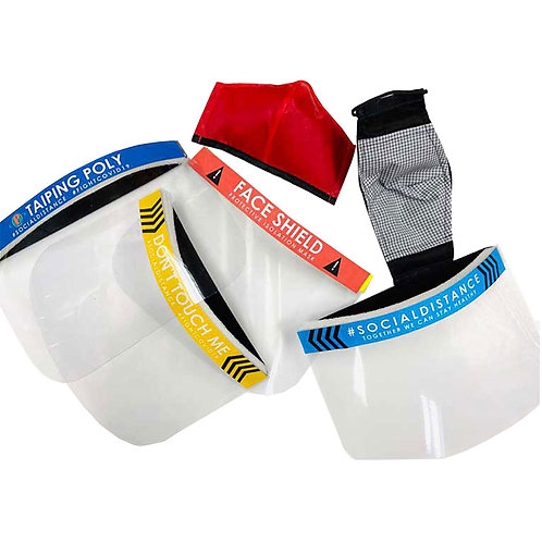 Poly-Pac Face Shield Anti-splash Isolation Protective Protector