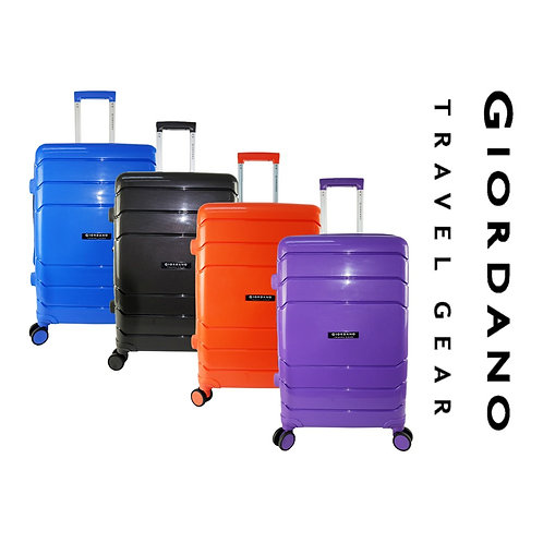 Giordano GA9866 20inch UNBREAKABLE PP Hardcase Luggage with Expendable and Anti-