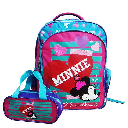 MINNIE DRS1449 SCHOOL BAG