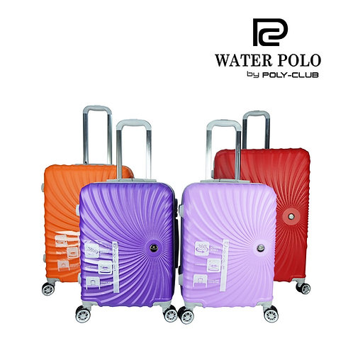 Waterpolo BA9842 4W ABS Hardcase Luggage With Small EVA Case