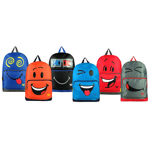 SMILEY SB1741 CASUAL BACKPACK/BULK