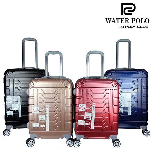 Waterpolo BA9831 4W PC Hardcase Luggage with Cup Holder