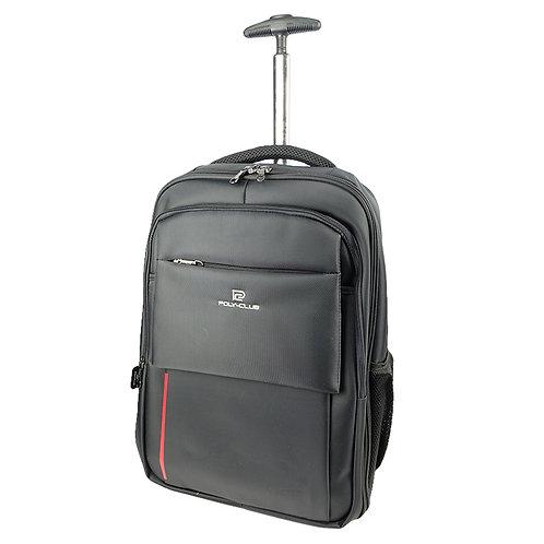 Poly-Club BN9929 T-Bar Trolley Notebook Backpack-Black