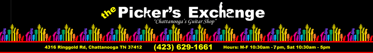 the pickers exchange guitars amps accesories parts chattanooga tn. Black Bedroom Furniture Sets. Home Design Ideas