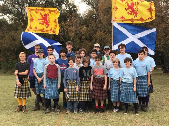 Highland-Games campout