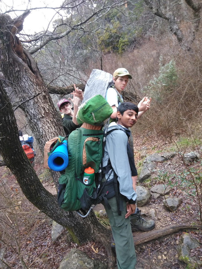 Kyle Mountain hiking campout