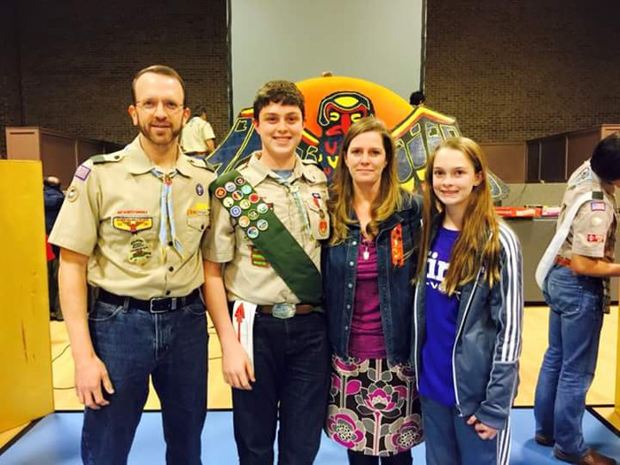 Scout of the Year Banquet