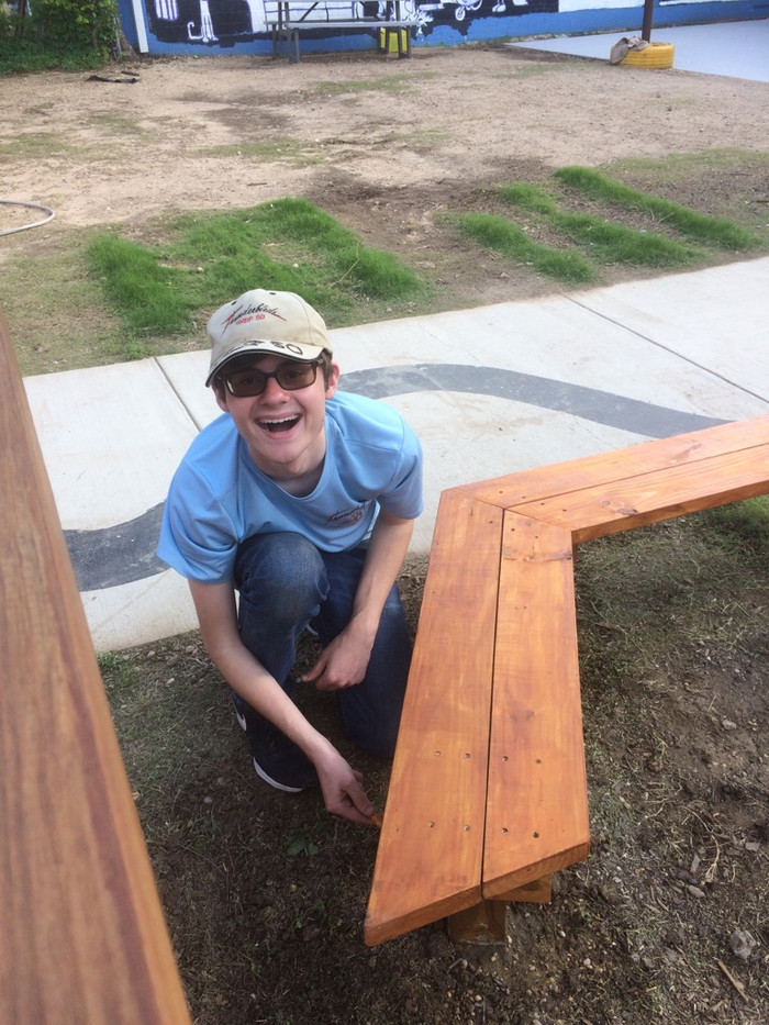 Mitchell Kelly Eagle scout project