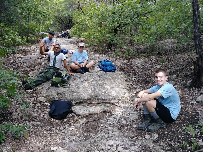 Trail and Backpacking Camp-Out