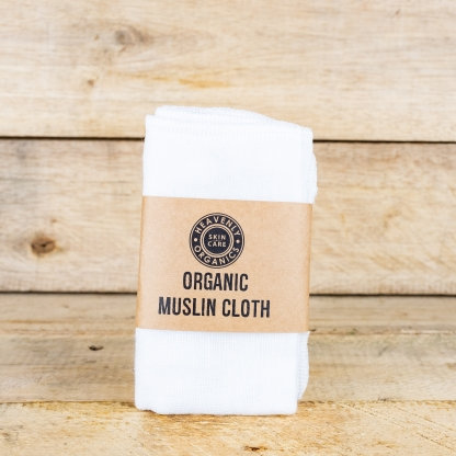 Heavenly Organics - Natural organic muslin cloth