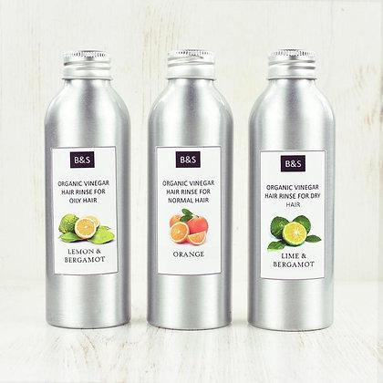 Bain & Savon vinegar rinse for hair