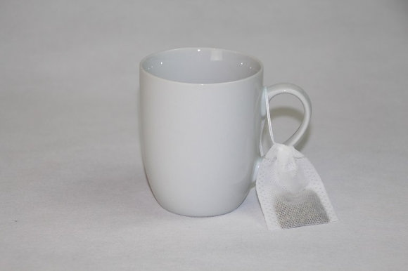 Biodegradable, reusable bags for tea or herbs