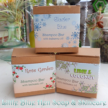Little Blue Hen Shampoo Bars