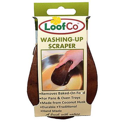 LoofCo Natural Coconut Washing Up Scraper