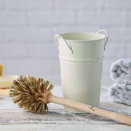 Plastic-free toilet brush