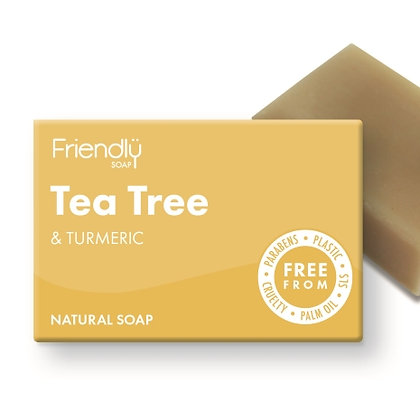 Friendly Soap - Tea Tree and Turmeric