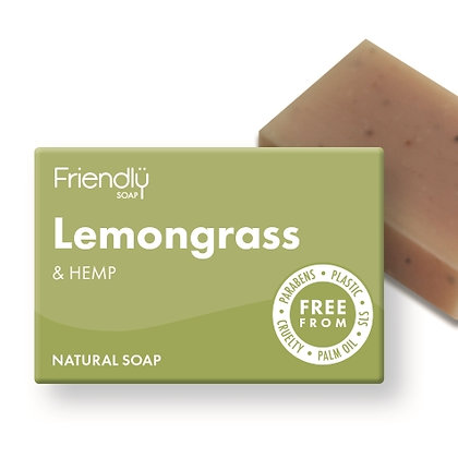 Friendly Soap - Lemongrass and hemp