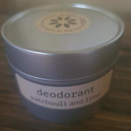 Bicarb-free deodorant - tin or bar