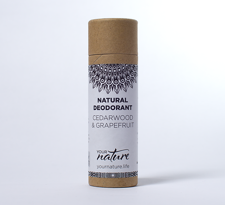 Your Nature Deodorant - Cedarwood and Grapefruit