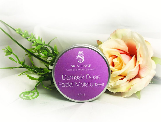 Damask Rose Facial Moisturiser