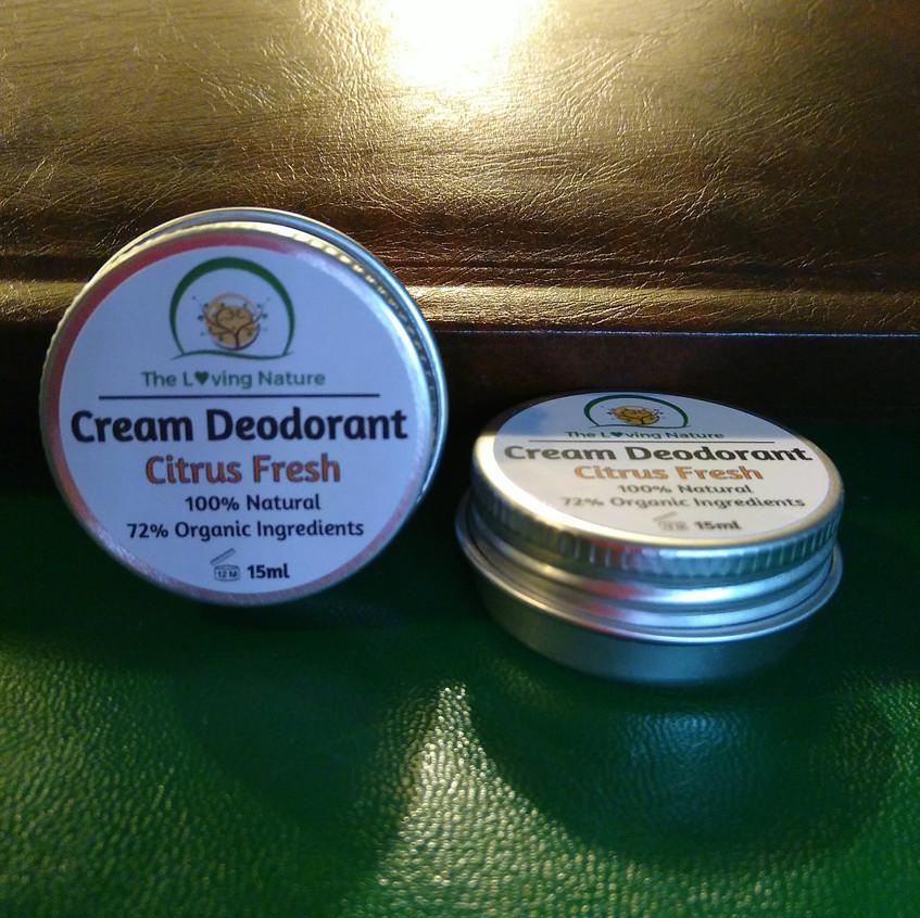 The Loving Nature Cream Deodorant